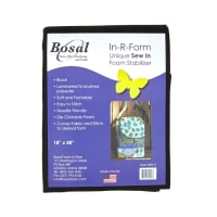 Bosal In-R-Form Sew-In 1/2 yard Foam Stabilizer Black