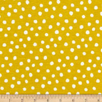 Cloud 9 Organics Spots Interlock Knit Citron