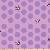 "Freespirit Freefall By Tula Pink 108"" Quilt Back Orchid"