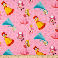 Nintendo Super Mario Princess Pack Pink