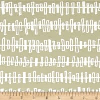 Kaufman Blueberry Park Zipper Stripe Limestone