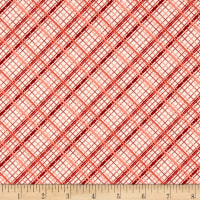 Riley Blake Offshore Plaid Red