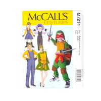 McCall's Adult's Minions Costume Pattern M7214 (Sizes Sm,Med,Lrg,Xlg)