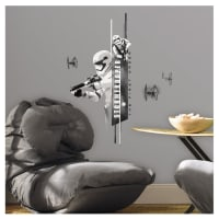 Star Wars Ep VII Storm Trooper Wall Decal