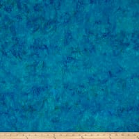 Jinny Beyer Malam Batiks III Leaf Scroll Deep Teal