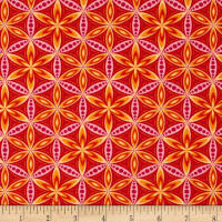 Transformation Flower of Life Orange/Pink
