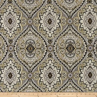 Swavelle/Mill Creek Purana Damask Graphite Linen
