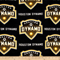 MLS Fleece Houston Dynamo Black