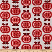 Riley Blake Double Gauze Red Apples
