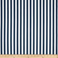Premier Prints Basic Stripe Premier Navy Twill