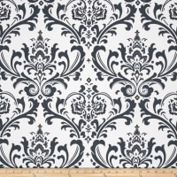 Premier Prints Traditions Twill Gunmetal