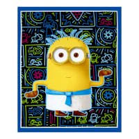 Minions Egyptian Minion 36 In. Panel Blue