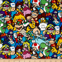 Nintendo Super Mario Packed Characters Multi