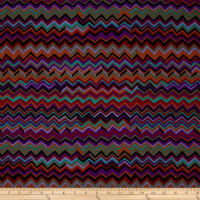Kaffe Fassett Collective Zig Zag Black
