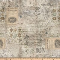Tim Holtz Wallflower Eggs & Nest Multi
