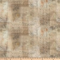 Tim Holtz Wallflower Shabby Script Multi