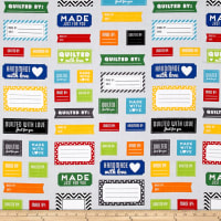 Kaufman Made for You Quilt Labels Primary