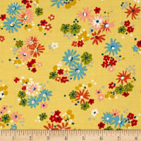 Michael Miller Sea Holly Little Posies Straw
