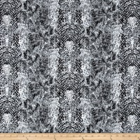 Michael Miller Flannel Cobra Animal Skin Stone
