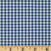 "Kaufman 1/8"" Carolina Gingham Denim"