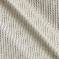 Kaufman Thermal Stretch Knit Natural