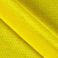 Pointelle Jersey Knit True Yellow