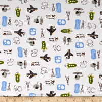 Fabric Merchants Transportation Cotton Spandex Jersey Knit Things That Fly