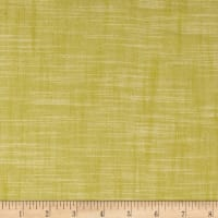 Kaufman Manchester Textured Yarn Dye Solid Shirting Kiwi