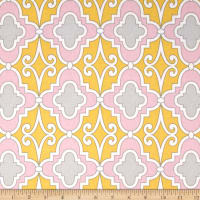 Butterfly Garden Lattice Pink