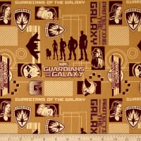 Marvel Guardians of the Galaxy Silhouettes Marigold