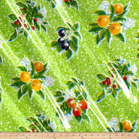 Oilcloth Summer Fruit Lime