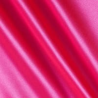 Silky Satin Charmeuse Solid Hot Pink