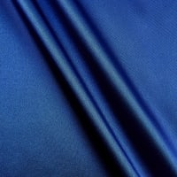Silky Satin Charmeuse Solid Royal