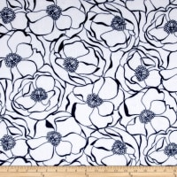 Shannon Studio Minky Cuddle Bouquet Navy