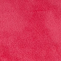 Shannon Minky Solid Cuddle 3 Shocking Pink