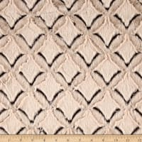 Shannon Minky Frosted Gem Cuddle Brown/Beige
