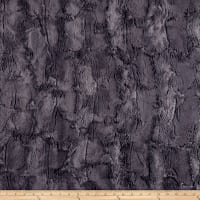Shannon Minky Luxe Cuddle Hide Charcoal