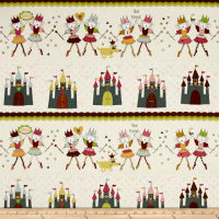 Sweet Princess Wands and Castles Multi