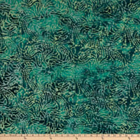 Indian Batik Moody Blues Asbstract Blue