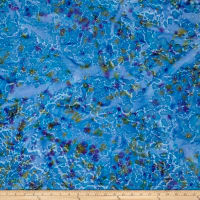 Indian Batik Lava Spray Blue/Purple