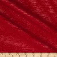 Andover Metallic Chambray Chambray with Lurex Red/Gold