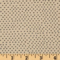 Pixie Square Dot  Dark Khaki