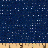 Pixie Square Dot  Navy