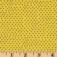 Pixie Square Dot  Gold