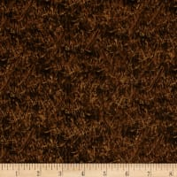 QT Fabrics Wild Pheasants Wheat Dark Brown