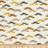 QT Fabrics A Close Shave Mustaches Cream