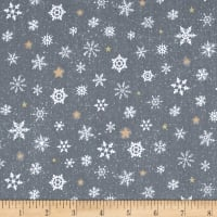 Woodland Wonder Snowflake Dark Grey