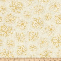Joy To The World Metallic Poinsettia Toile Cream