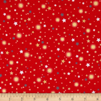All That Glitters Metallic Stellar Toss Red