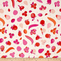 Cotton + Steel Fruit Dots Fruit Stand Pink